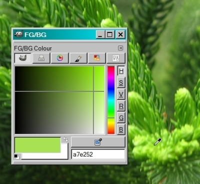 Evergreen Colour Picker